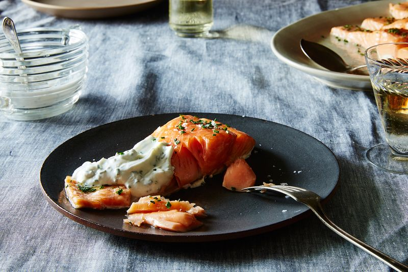 29860ba6 323a 485a 93f9 a26b7f367624  2015 0728 slow roasted salmon james ransom 270 Two Weeks Worth of Genius 5ish Ingredient Dinner Ideas