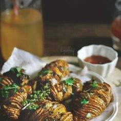 Garlic lime honey roasted potatoes