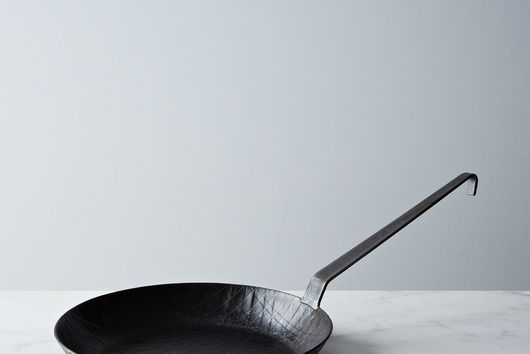 Turk Extra High Edge Criss-Cross Forged Iron Fry Pan