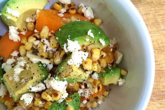 Avocado and Roasted Corn Salsa
