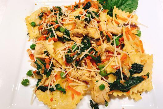 Chicken & Vegetable Ravioli