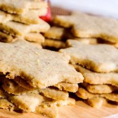 Old-Fashioned Melt-In-Your-Mouth Walnut and Citrus Cookies