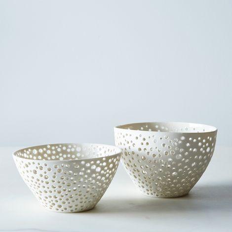 Porcelain Berry Bowl