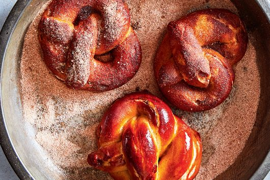 Cinnamon Raisin Soft Pretzels