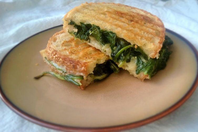 Spanakopita Grilled Cheese