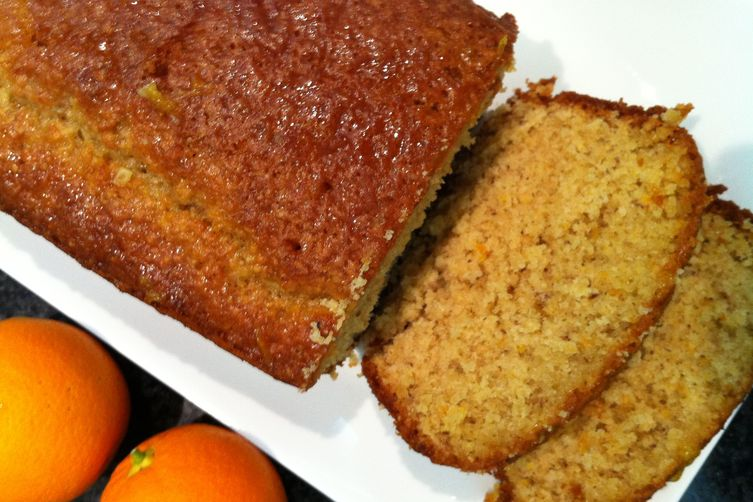oat cake with orange