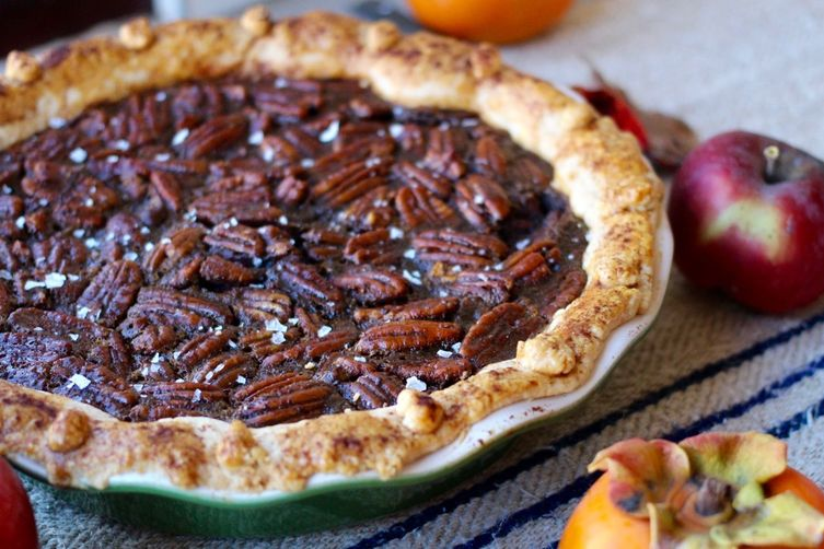 Not-Your-Grandmother's (Chocolate) Pecan Pie