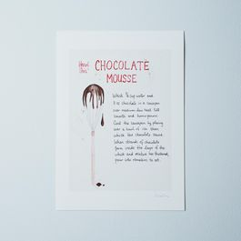 Food52's Herve This Chocolate Mousse Recipe Print