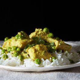 Salmon with a Thai Curry Sauce