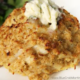 Kent Island Crab Cakes with Tarragon Shallot Butter