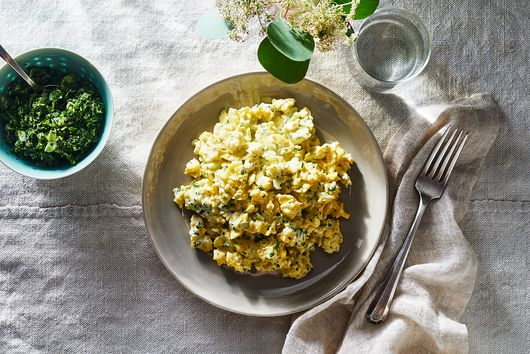 Julia Turshen's Curried Egg Salad Is the Easiest Egg Salad, Thanks to This Trick