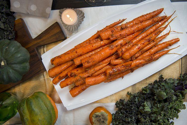 Harissa-Glazed Carrots