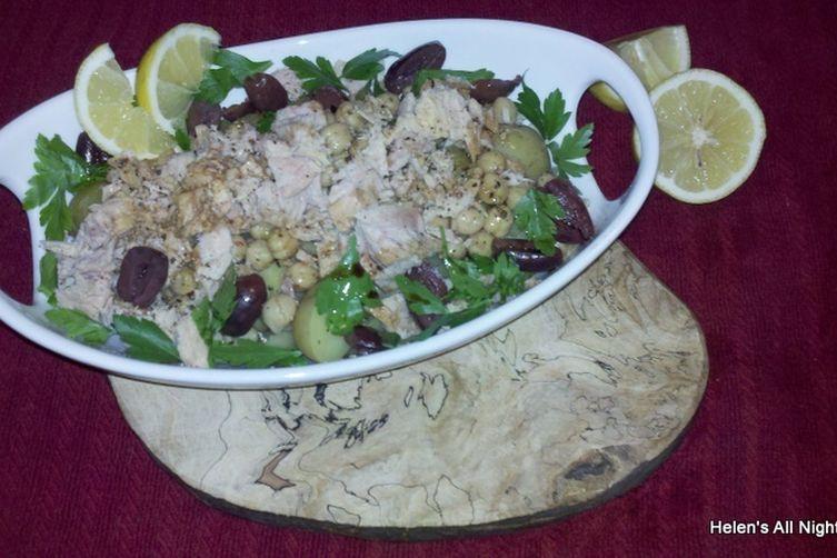 Portuguese Tuna Salad