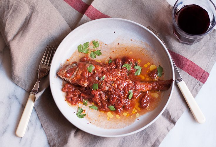 A Simple Tuscan Method for Cooking a Whole Fish (& Celebrating Fresh Tomatoes)
