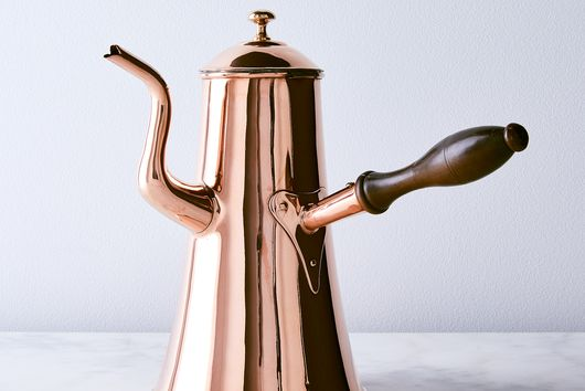 Vintage Copper Georgian X-Large Coffee Pot, Mid 19th Century