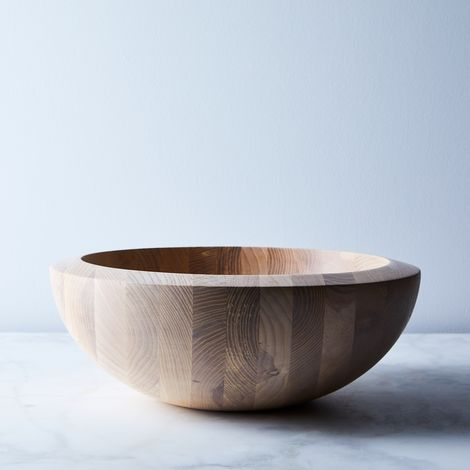 Dansk Ash Wood Serving Bowl