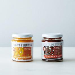 Peruvian Organic Aji Amarillo & Aji Panca Chili Paste (2 Jars)
