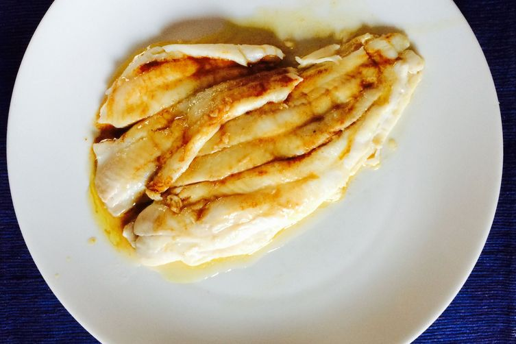 "Sole ""en Papillotes"" with Anchovy Brown Butter Sauce"