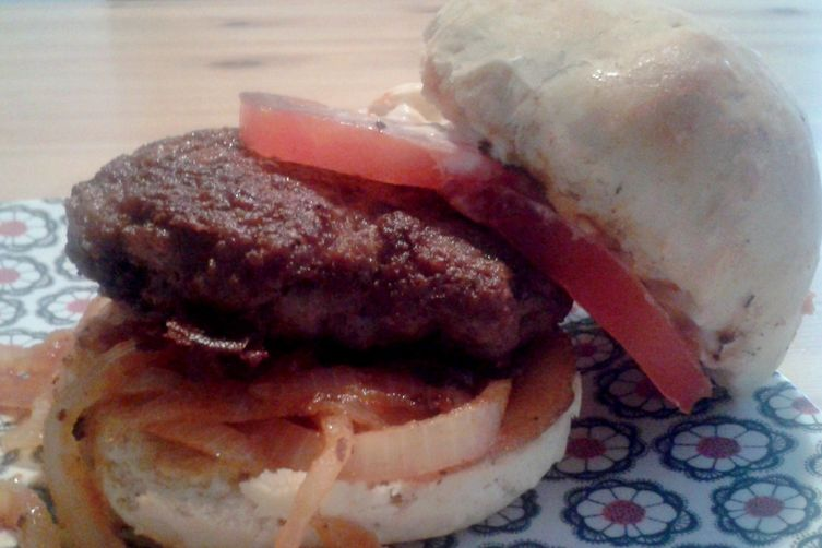 The Barbecued Onion Crispy Burguer