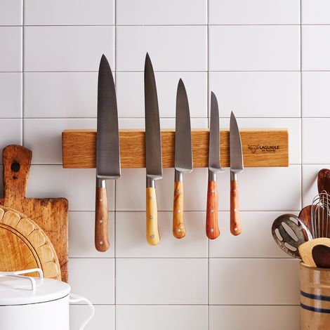 Laguiole en Aubrac Knife Set with Magnetic Bar