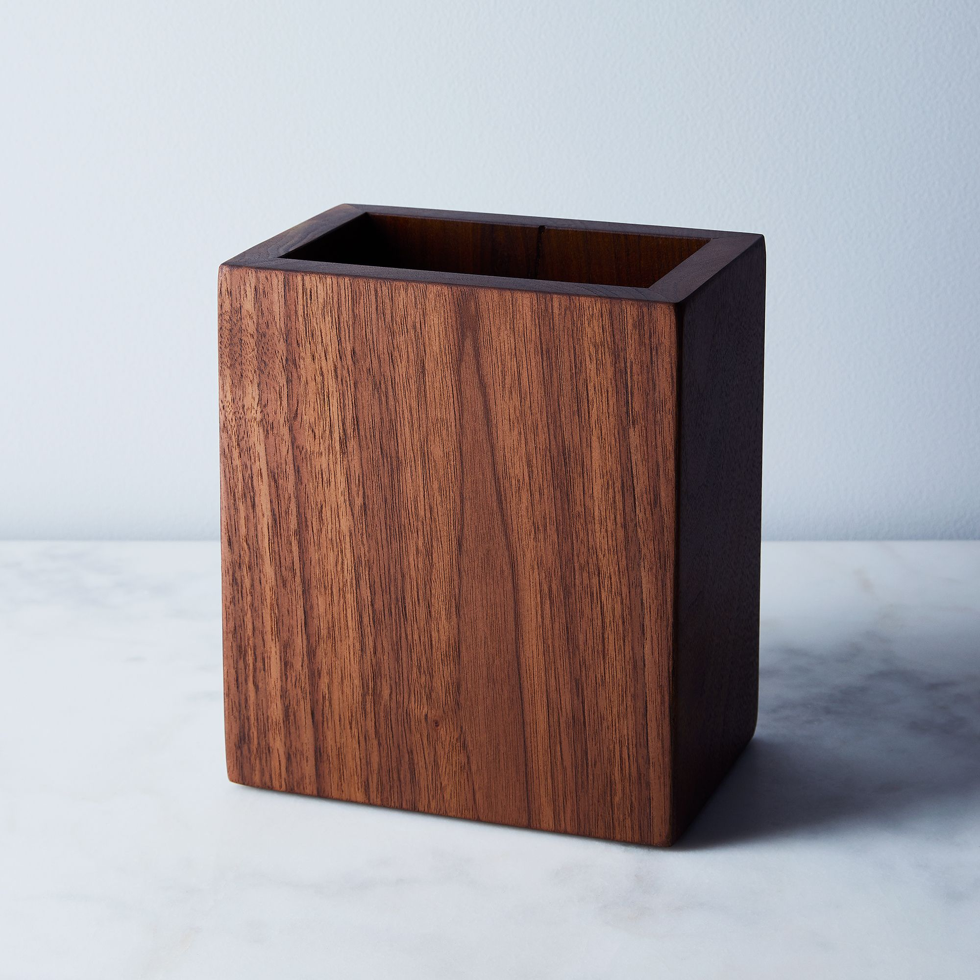 Walnut kitchen utensil holder utensil storage storage cliff walnut kitchen utensil holder utensil storage storage cliff spencer shop food52 on food52 workwithnaturefo