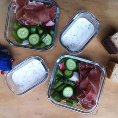 A Double-Dip Worthy Weekday Lunch