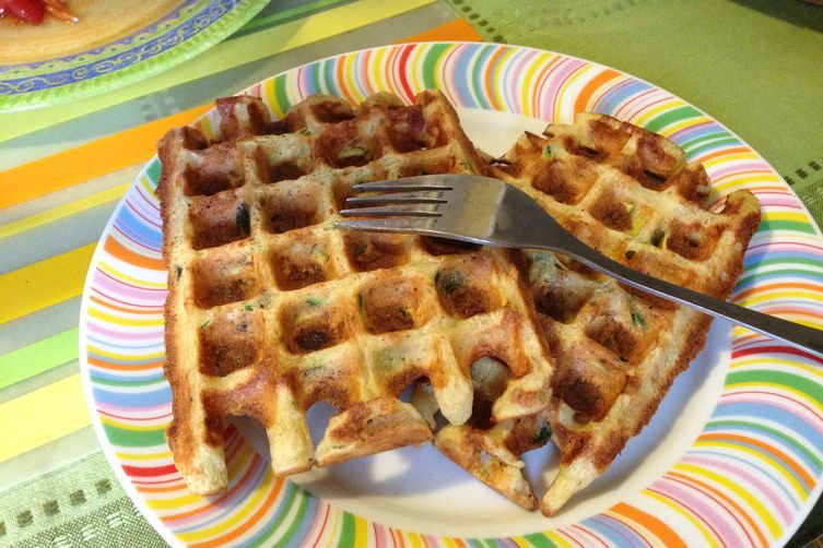 Courgette Waffles