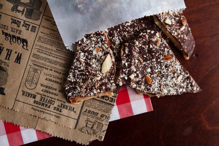 Go Nuts For Chocolate Bark