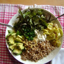 Hearty salads by cheri