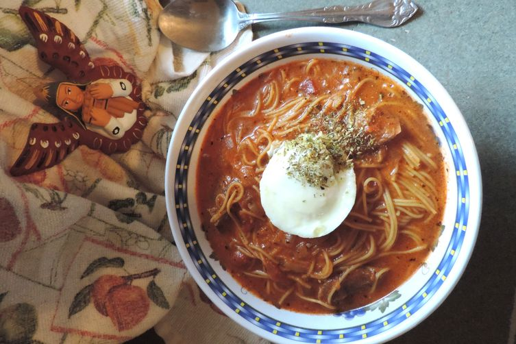 Peruvian Sopa Criolla de Bisteca (Creole Beef Soup)