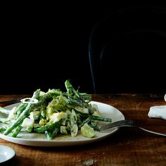 Chopped Kitchen Sink Salad with Yogurt Dressing & Bottarga