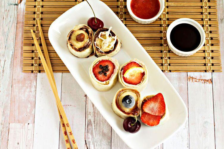 Frushi – fruit sushi