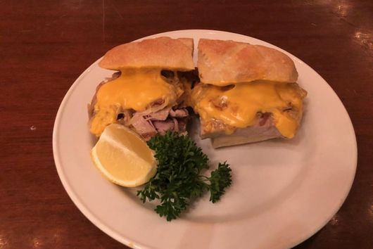 Grand Central Oyser Bar's Philadelphia Tuna Cheesesteak