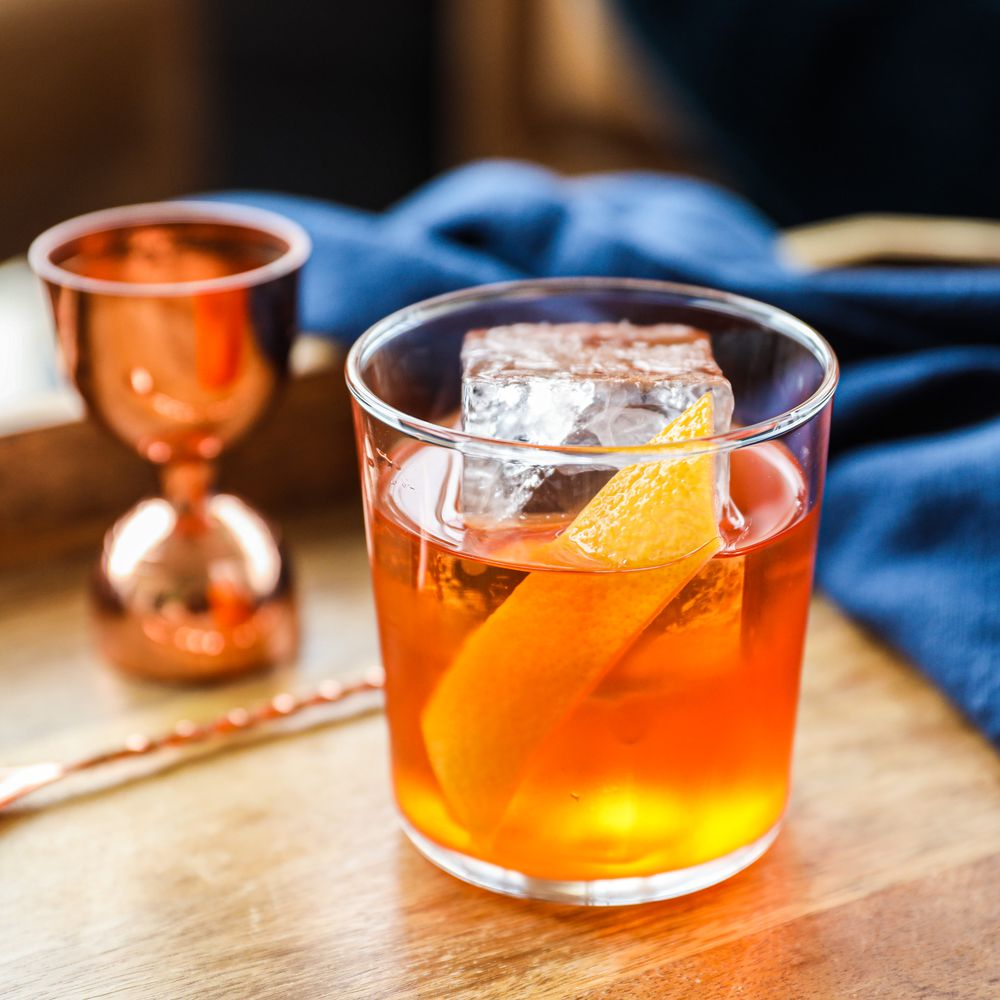 Golden Hour Cocktail From Basil Hayden's