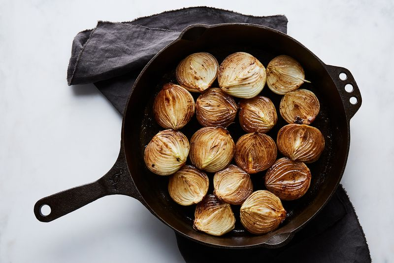 These onions won't brown themselves.