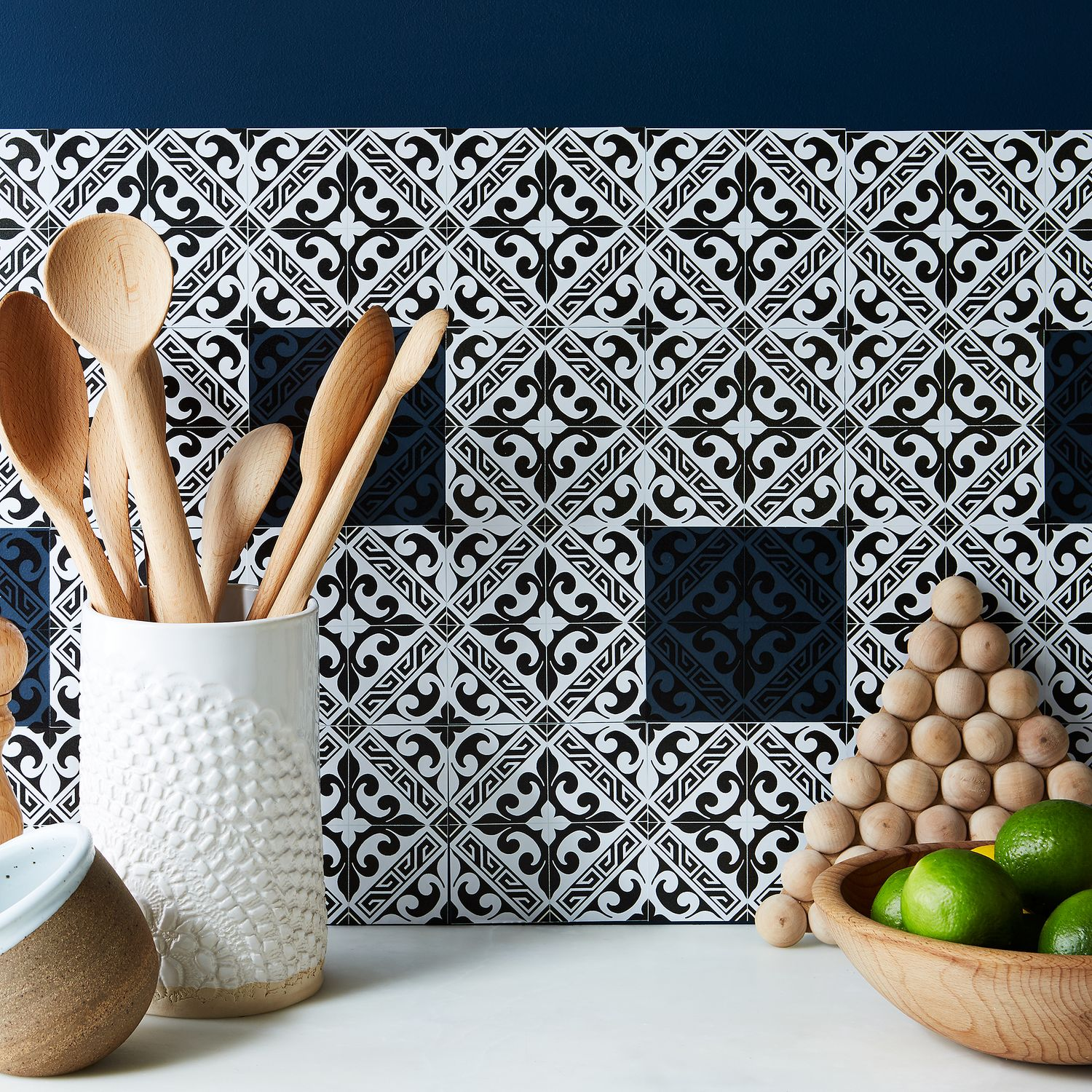 Self Adhesive Mosaic Tile Backsplash 48 Tiles On Food52