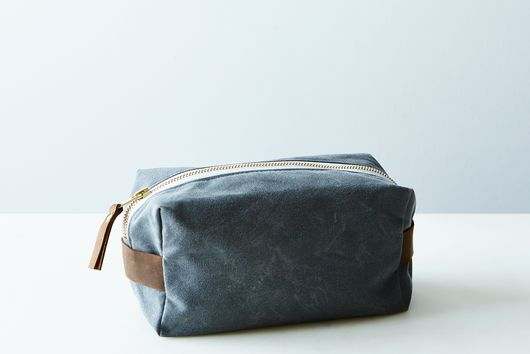 Waxed Canvas Toiletries Pouch