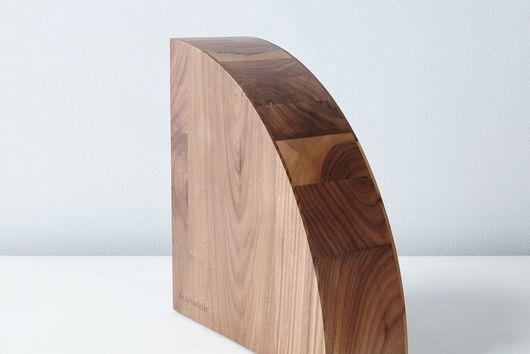 Magnetic Wood Knife Block