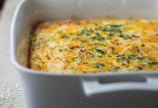 Bacon & Veggie Breakfast Casserole