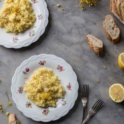 Lemon and Saffron Risotto