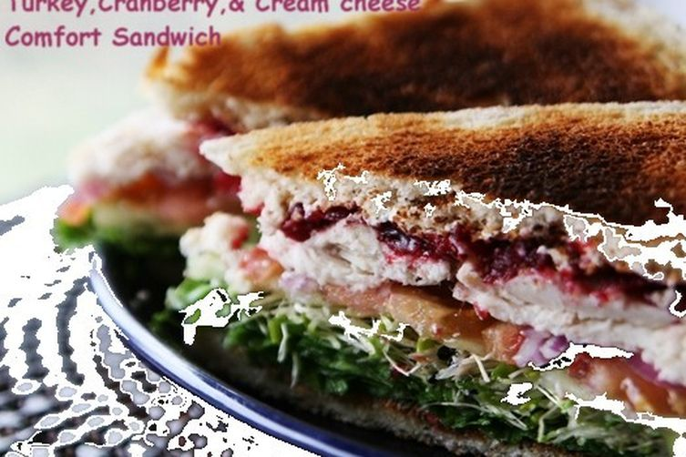 Micki's Turkey, Cranberry, and Cream Cheese Comfort Sandwich