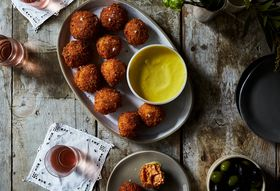 Last Night's Dinner, Today's Croquetas (Oh, and No Recipe!)
