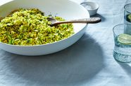Rice with Favas and Dill (Baghali Polo)