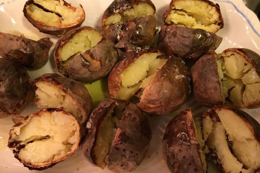Crispy Baked Yukon Gold Potatoes