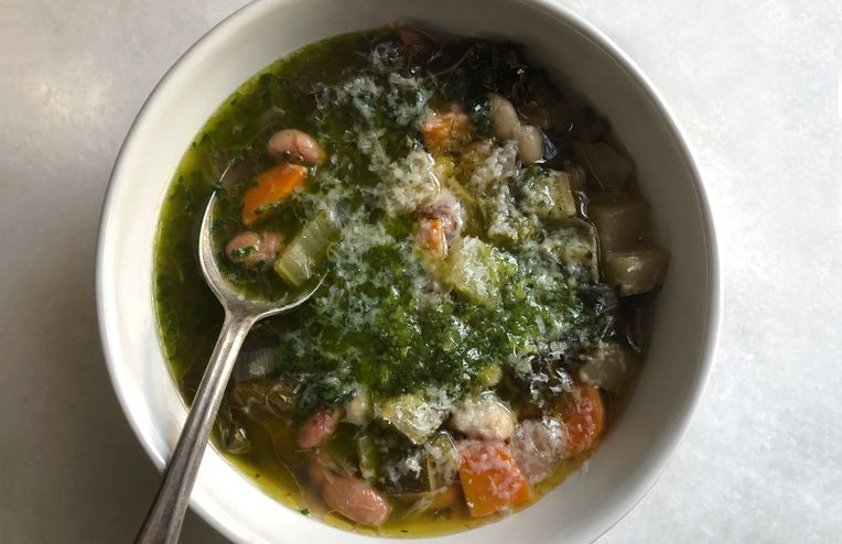 The Summery Vegetable Soup That Makes Itself