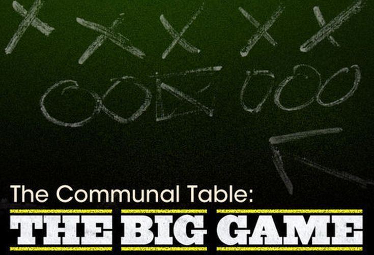 The Communal Table: The Big Game