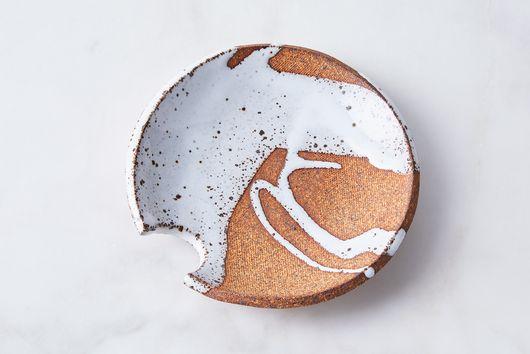 Handmade Ceramic Splatter Spoon Rest