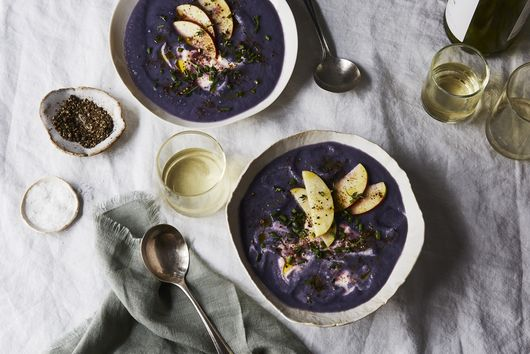 Peppery Purple Soup