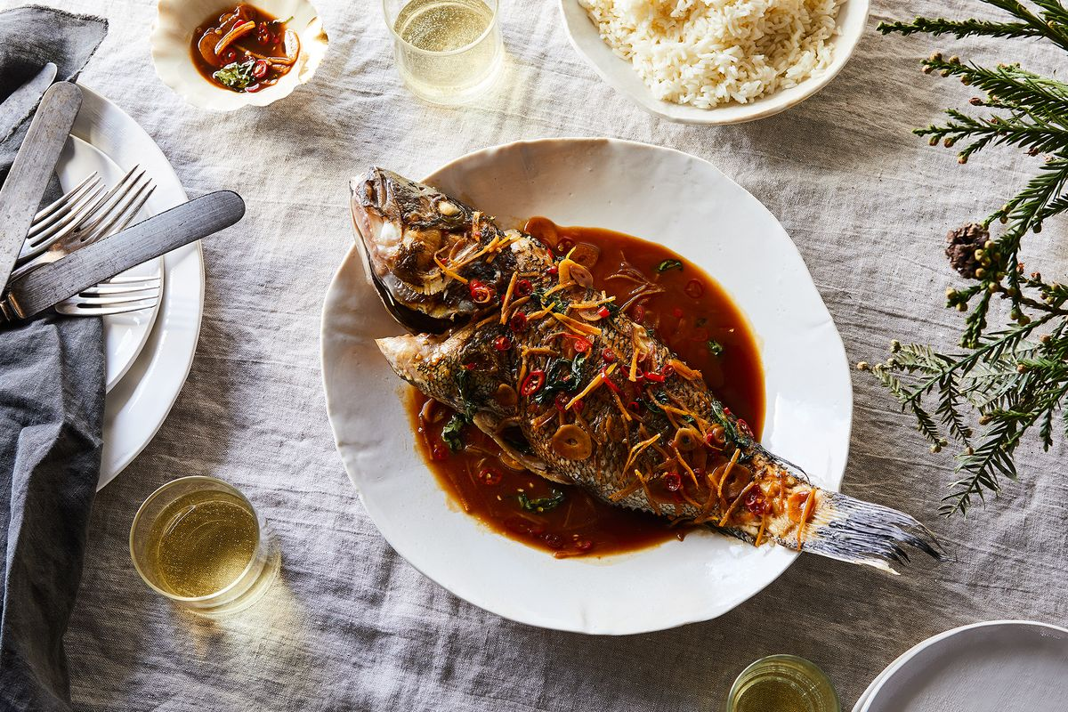 Chinese Cooking Sdy Y Taiwanese Style Fish