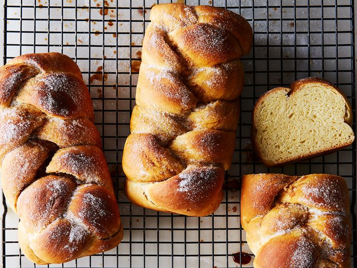 My Great Grandmother's Cardamom-Coffee Bread, 117 Years Later